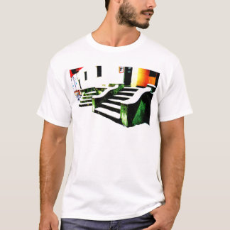 Snowy-Treppe T-Shirt