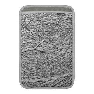 Snowy verzweigt sich Macbook Luft-Hülse MacBook Air Sleeve