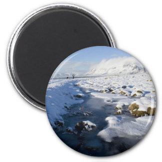 Snowy Winterland Magnets