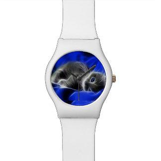 Snuggling Kätzchen-Entwurfs-Armbanduhren Armbanduhr