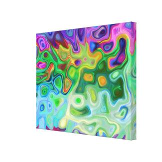 So abstrakte 4,1 leinwanddruck