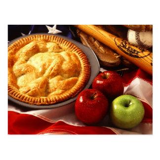 So amerikanisch wie Apfelkuchen! Postkarte