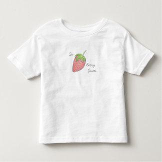 So Beeren-süßes Kleinkind-T-Shirt Kleinkinder T-shirt