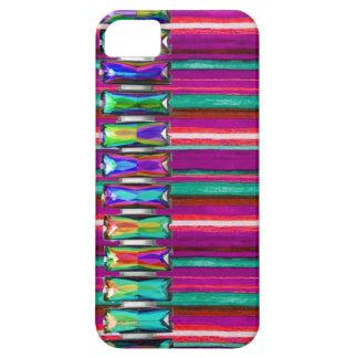 So cooler schillernder Glühen-diamante de iPhone 5 Schutzhülle