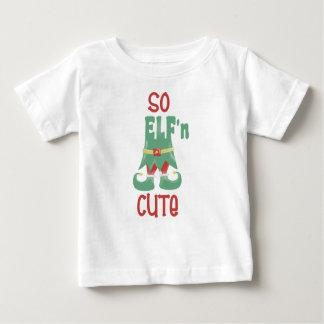 So ELF'n niedliches lustiges Weihnachten Baby T-shirt
