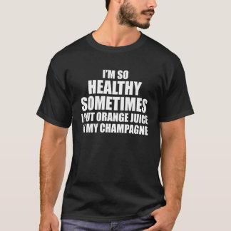 So gesund setzte ich Orangensaft in meine T-Shirt