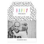 So glückliche | Feiertags-Foto-Karte Ankündigung