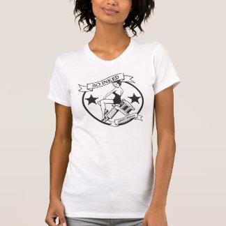 So mit Tinte geschwärztes Trägershirt T-Shirt