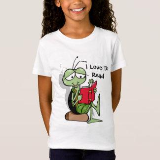 So niedliche i-Liebe, T - Shirt für Mädchen zu
