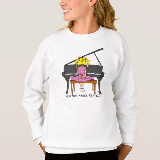 So niedlicher Klavier-Studenten-Entwurfs-T - Shirt