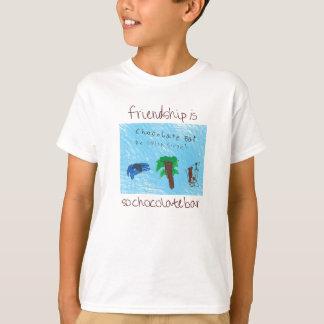 So Schokoladen-Bar-T-Stück für Kinder T-Shirt