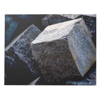 So stark wie Granit Notizblock