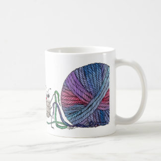 So viele losen Bandenden… Marienkäfer und Kaffeetasse
