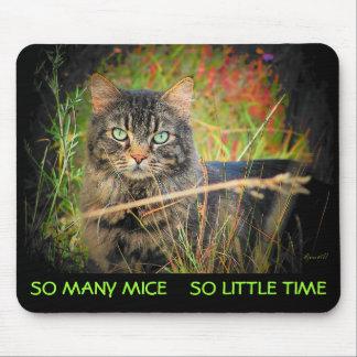 So viele Mäuse so wenig Zeit Mousepad