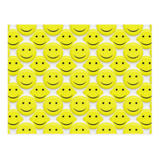 so viele smiley postkarten