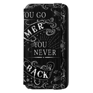 Sobald Sie Gamer gehen, gehen Sie nie zurück Weiß Incipio Watson™ iPhone 6 Geldbörsen Hülle