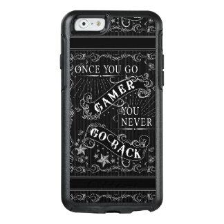Sobald Sie Gamer gehen, gehen Sie nie zurück Weiß OtterBox iPhone 6/6s Hülle