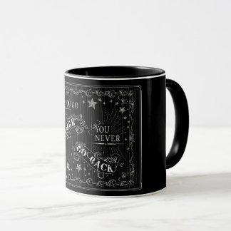 Sobald Sie Gamer gehen, gehen Sie nie zurück Weiß Tasse