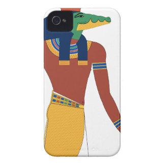 Sobek Krokodil-Gott iPhone 4 Hüllen