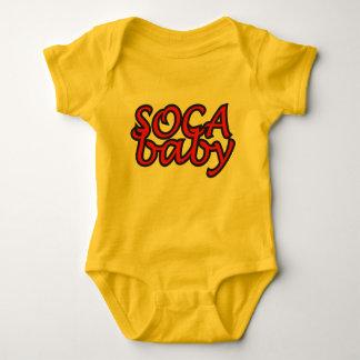 Soca Baby-T-Shirt Baby Strampler