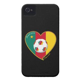 "Soccer ""CAMEROON"" FOOTBALL Team, Fußball von Kamer Case-Mate iPhone 4 Hülle"