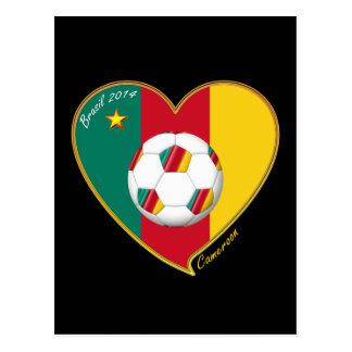 "Soccer ""CAMEROON"" FOOTBALL Team, Fußball von Postkarten"
