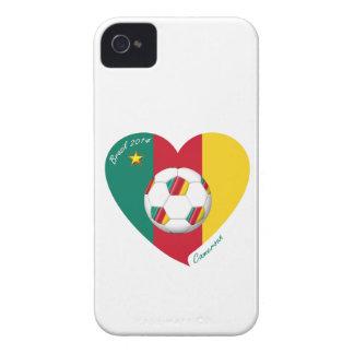 """Soccer """"CAMEROUN"""" Football Team, Fußball von Kamer iPhone 4 Hüllen"""