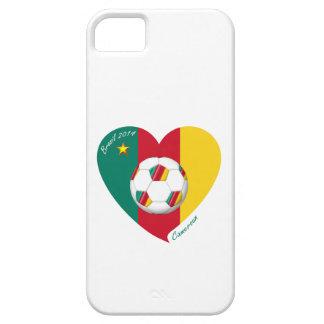 """Soccer """"CAMEROUN"""" Football Team, Fußball von Kamer iPhone 5 Hüllen"""