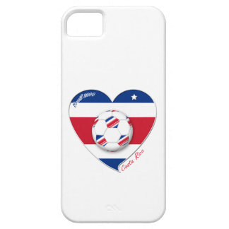 "Soccer Team ""COSTA RICA"" FUSSBALL nationaler COSTA iPhone 5 Etuis"