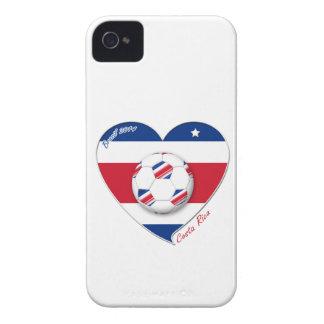 "Soccer Team ""COSTA RICA"" FUSSBALL nationaler iPhone 4 Case-Mate Hülle"