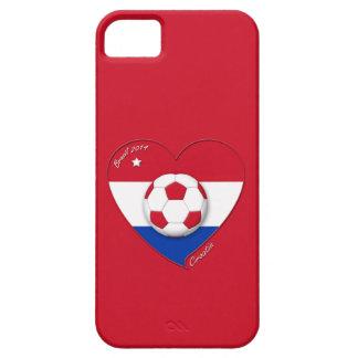 """Soccer Team """"CROATIA"""". Fußball von Kroatien 2014 iPhone 5 Hülle"""