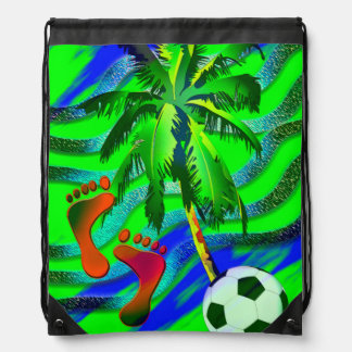 Soccer under the palms turnbeutel