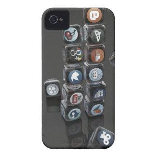 SOCIALUTION - Sozialmedium-Überlastung iPhone 4 Case-Mate Hülle