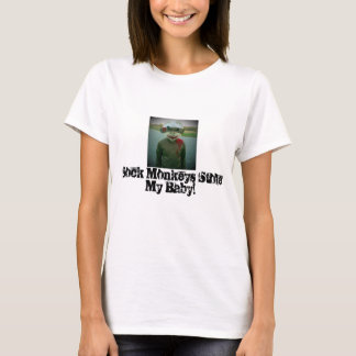 Socke Monkeys Stola mein Baby! T-Shirt