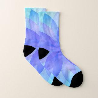 Socken-abstrakte Lotos-Blume Socken