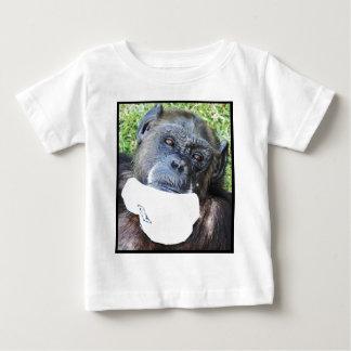 Socken-Affe 2 Baby T-shirt