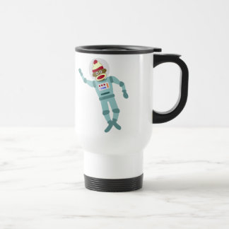Socken-Affe-Astronaut Reisebecher
