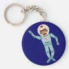 Socken-Affe-Astronaut Schlüsselanhänger