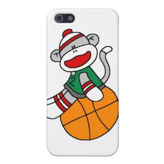 Socken-Affe-Basketball und Geschenke iPhone 5 Schutzhüllen