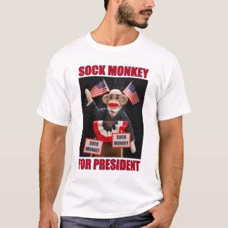 Socken-Affe für Präsidenten T-Shirt