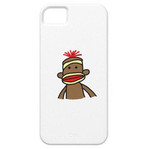 Socken-Affe iPhone Fall iPhone 5 Cover