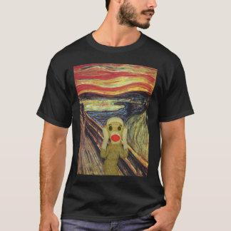 Socken-Affe-Schreidunkelheit T - Shirt