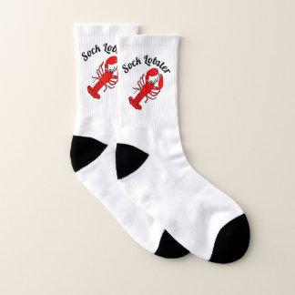 Socken-Hummer Ihre Text-Hintergrund-Farbe Socken