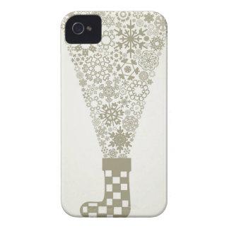 Socken-Weihnachten iPhone 4 Case-Mate Hülle