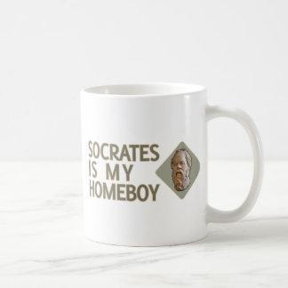 SOCRATES ist mein Homeboy Kaffeetasse