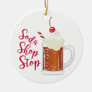 Soda-Geschäfts-Halt Keramik Ornament