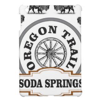 Soda Springsfuchs und -bison iPad Mini Hülle