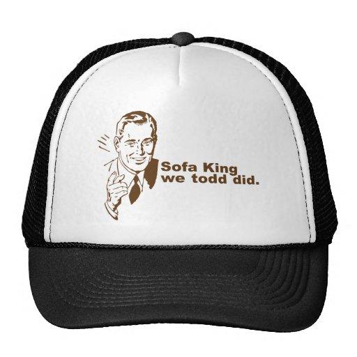 Sofa-König… Truckerkappen