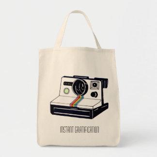 Sofortige Kamera-Lebensmittelgeschäft-Tasche Tragetasche