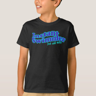 Sofortiges Schwimmer-Dunkelheits-Shirt T-Shirt